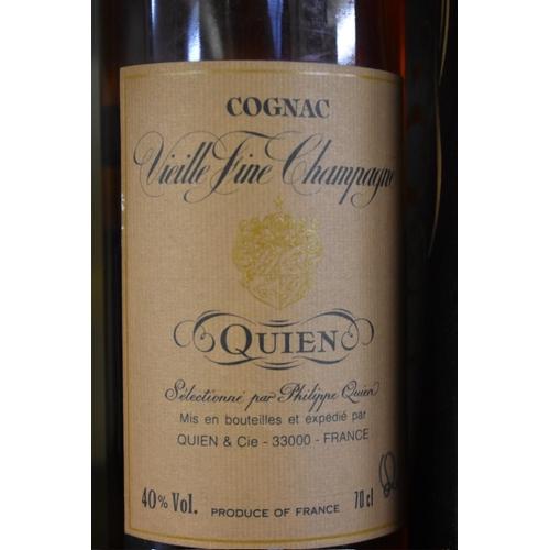 519 - <strong>A 70cl bottle of Quien XO Vielle Fine Champagne Cognac,</strong>40% vol. (1)...