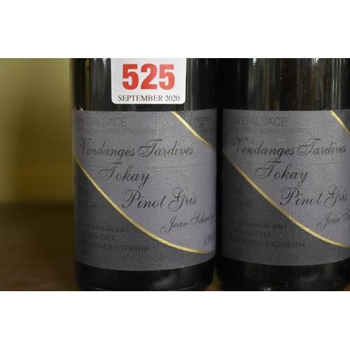 525 - <strong>Three 37.5cl bottles of Tokay Pinot Gris Vendanges Tardives, 1989,</strong>Martin Scha...