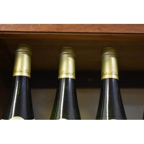 528 - <strong>Four 75cl bottles of Gewurztraminer, 1983,</strong>Martin Schaetzel. (4)...