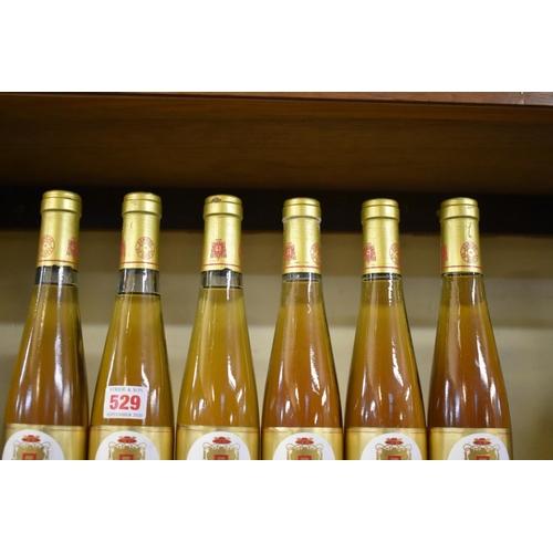 529 - <strong>Six 37.5cl bottles of Muscat de Baume de Venise, 1986</strong>Domaine Coyeux. (6)...
