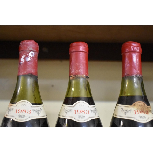 533 - <strong>Three 75cl bottles of Chateauneuf du Pape, 1983, </strong>Ets Loron. (3)...