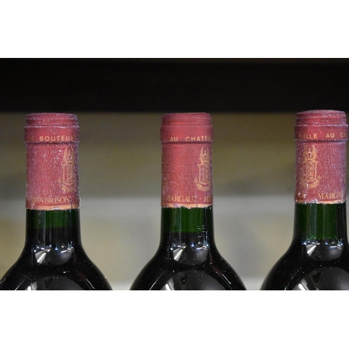 536 - <strong>Six 75cl bottles of Chateau Monbrison, 1988, </strong>Cru Bourgeois Margaux. (6)<br /><...