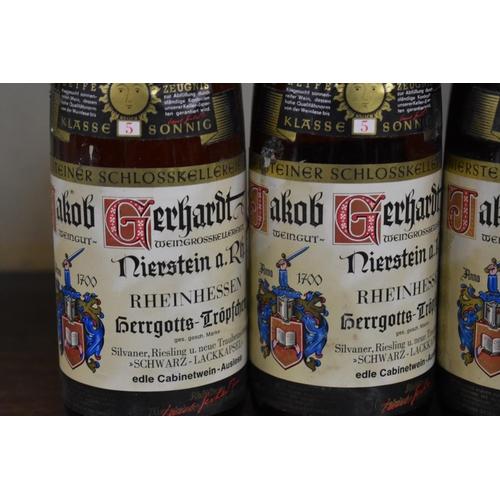 542 - <strong>Three 75cl bottles of Niersteiner Hergottstroppfchen Auslese, 1967,</strong>Gerhardt. ...