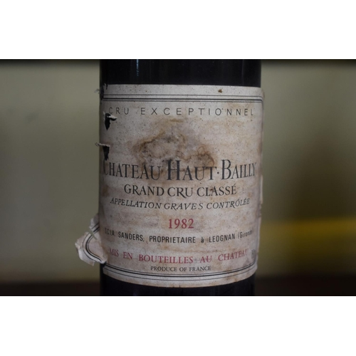 544 - <strong>A 75cl bottle of Chateau Haut-Bailly, 1982,</strong>Grand Cru de Graves. (1)...