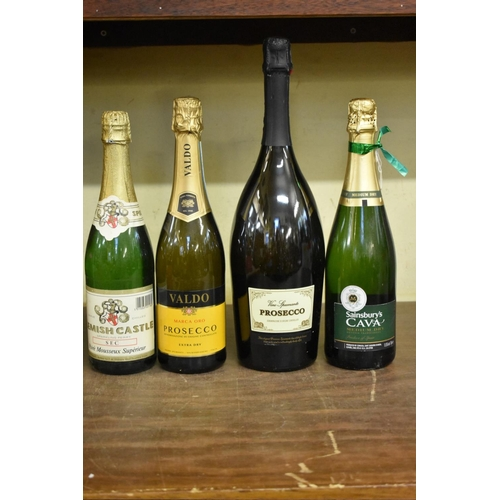 609 - <strong>A 1.5 litre magnum bottle of prosecco;</strong> together with another 75cl bottle of prosecc...