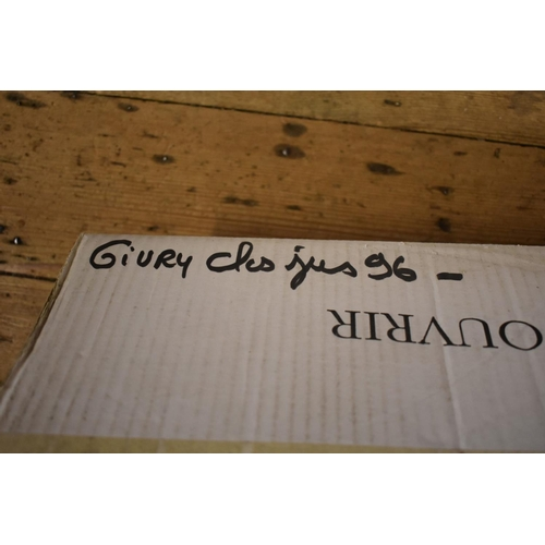 621 - <strong>A case of twelve 75cl bottles of Givry, 1996,</strong>1er Cru Clos Jus, Chofflet-Valde...
