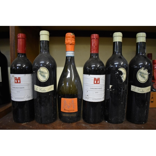 636 - <strong>Nineteen various bottles of wine and similar</strong>. (19)...