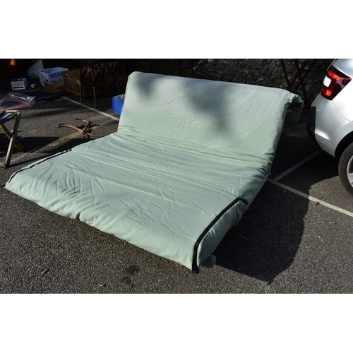 1015 - A sofa bed by Ligne Roset, 160cm wide.<strong>This lot can only be collected on Saturday 10th Octob...