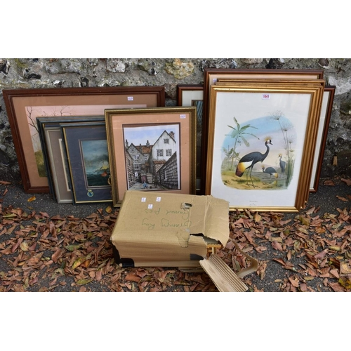 1041 - A large quantity of pictures and prints.<strong>This lot can only be collected on Saturday 10th Oct...