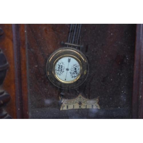 1127 - A Vienna style wall clock....