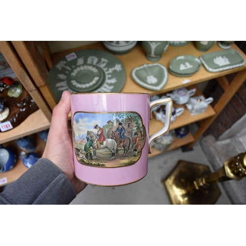 1173 - A collection of Prattware pottery. (10)