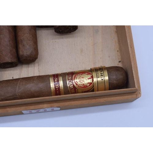 1711 - <strong>Seventeen vintage cigars,</strong> to include:Habana, Monte Cristo, Cohiba, Winston Churchi...