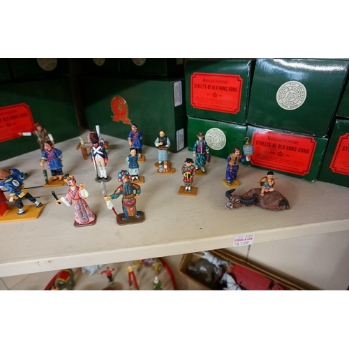 1339 - <strong>A collection of twenty three 'King & Country' painted metal figure sets,</strong>b...
