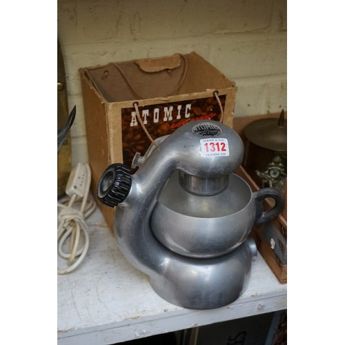 1312 - <strong>A vintage Atomic espresso coffee machine,</strong> boxed....