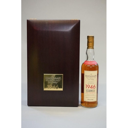 643 - <strong>A 70cl bottle of The Macallan 52 year old 1946 vintage 'Select Reserve' whisky,</strong>&nbs...
