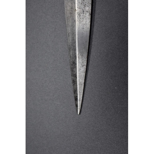 1671 - A rare Fairbairn Sykes 1st pattern fighting knife, by Wilkinson Sword, with 17cm blade, the handle n...