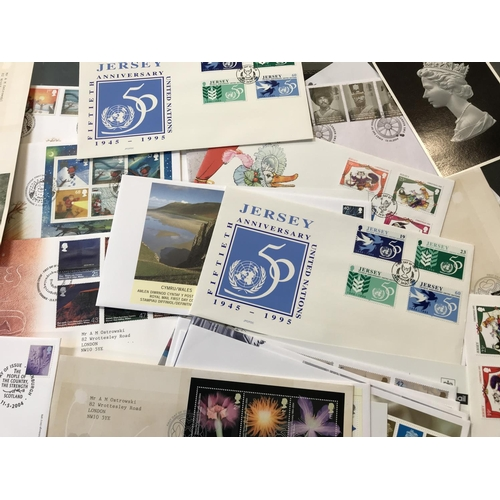 31 - Large quantity of 20th C vintage First Day covers various subjects, over 70 items in the lot...