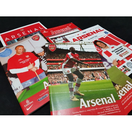 13 - From a private collection large quantity of Arsenal FC football programmes, various 21st C dates, ov...
