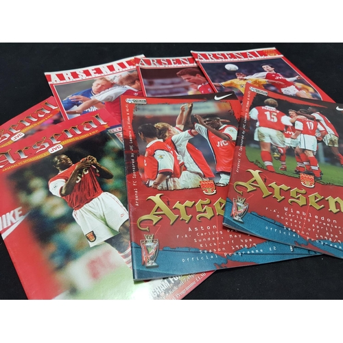 23 - From a private collection large quantity of Arsenal FC football programmes, mainly 1990's period, ov...