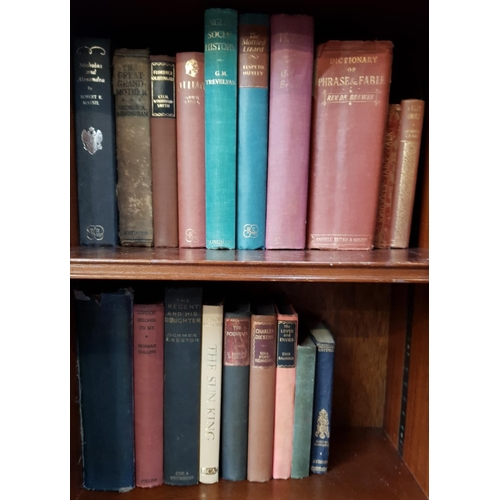 45 - Quantity of early 20th C and later hardback books, various novels over 80 items in the lot...