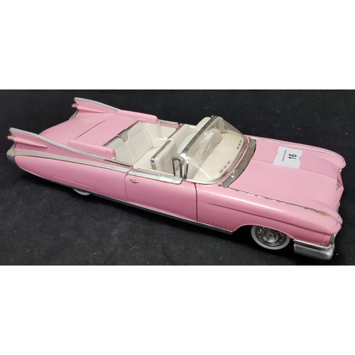 16 - Maisto cast metal Cadillac convertable vehicle 1969 model H3ins L13ins...