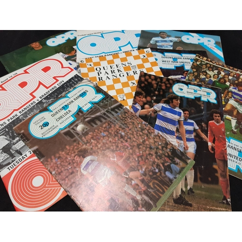 32 - Quantity of QPR FC football programmes, mainly 1970's/80's period, 17 items in the lot...