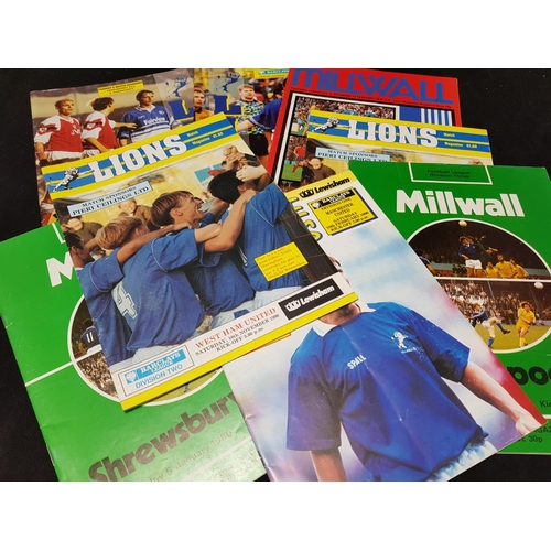 50 - Quantity of Millwall FC football programmes mainly 1970's/80's, 20 items in the lot...