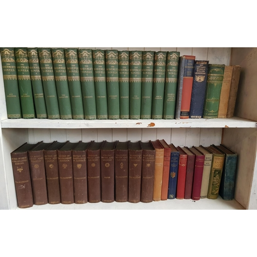 42a - Large quantity of 19th c and later hardback books various titles over 90 items in the lots...