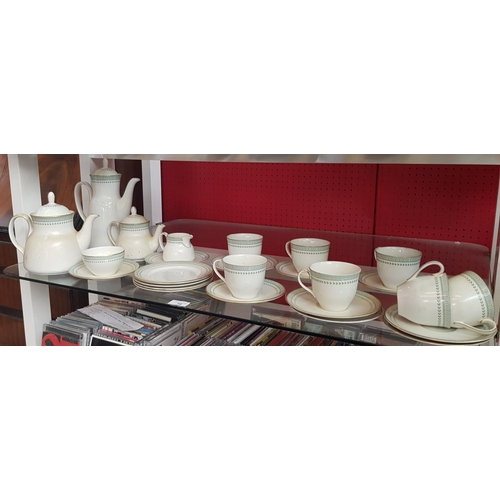 49 - Vintage Royal Doulton bone china tea/coffee set in the Berkshire design 26 items in the lot...