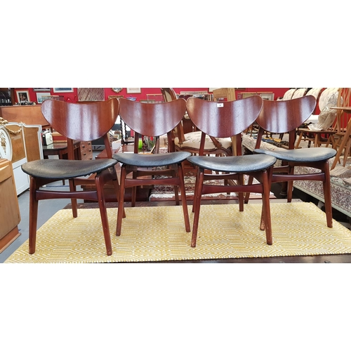 Enjoyable Set Of Four 1950S 60S Vintage G Plan Wood Frame Dining Gmtry Best Dining Table And Chair Ideas Images Gmtryco