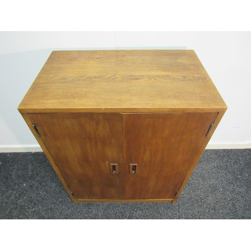 3 - Mid Century, 1960's, music, record cabinet, by Phoenix bookcases of London. 61cm w, 77cm w, 38cm d...
