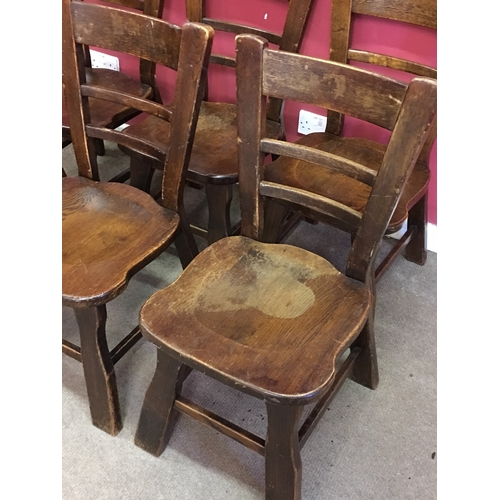 4 - 6 Ladder Back Chairs...