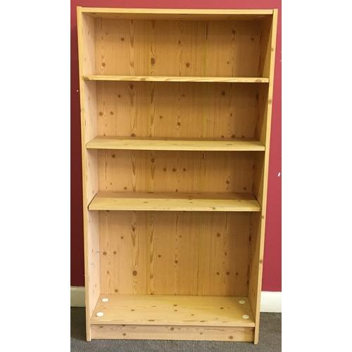 5 - Pine Bookcase Measures 173x73cm...