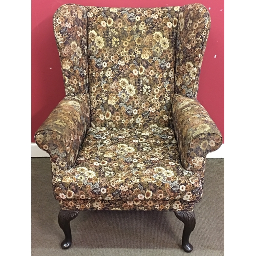 7 - Arm Chair Measures 79x77cm...