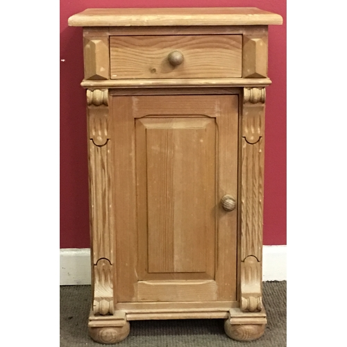 11 - Small Pine Cabinet Measures 45x37cm...