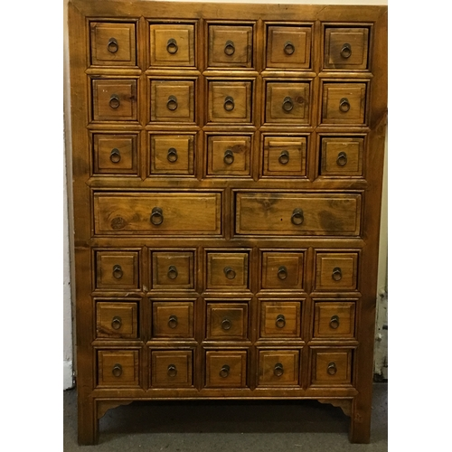 20 - Chest Of Various Drawers Measures 74x34cm...