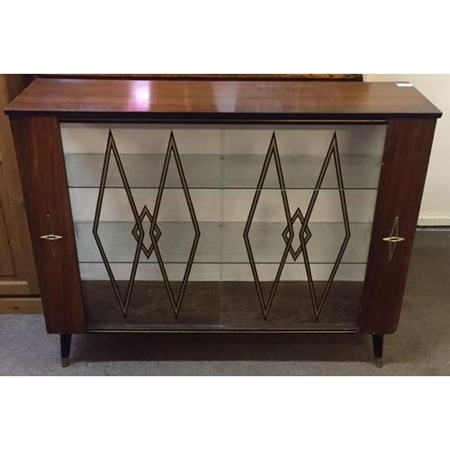 40 - Vintage  Glazed Display Cabinet...