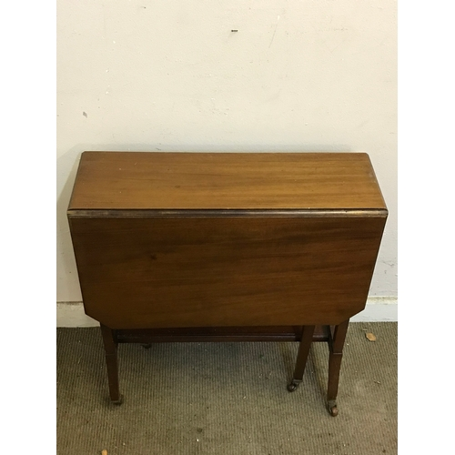 29 - Drop Leaf Table Measures 60x83cm...