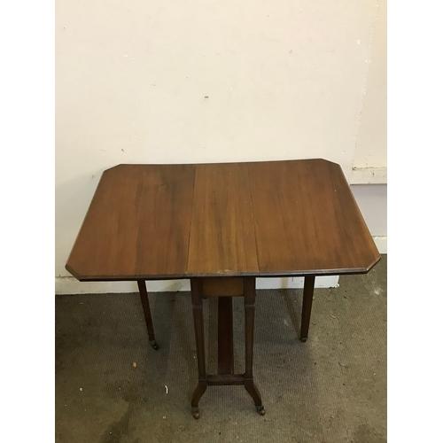 29 - Drop Leaf Table Measures 60x83cm...