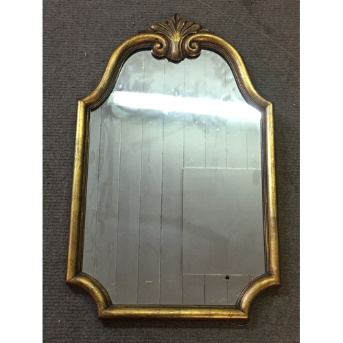41 - Gilt Framed Mirror Measures 43x68cm...