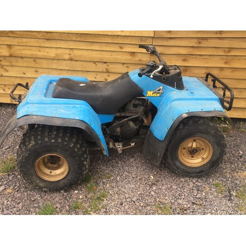 1 - 4 Moto Full Size  Quad Bike...