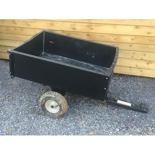 1c - Good Condition Garden Tractor Trailer (Tipper)...