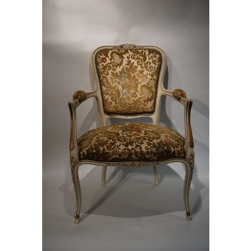 10 - Vintage French chair...