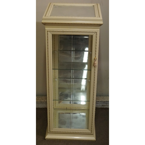 17 - Glass Display  cabinet height 96cm...