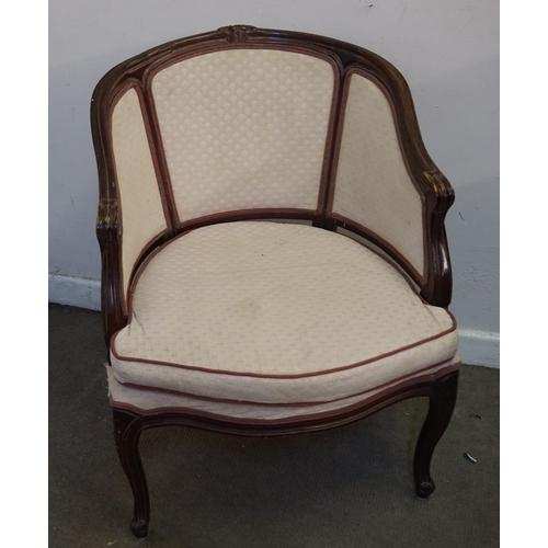 59 - Fauteuil Style Chair 57cm x 63cm x 84cm...