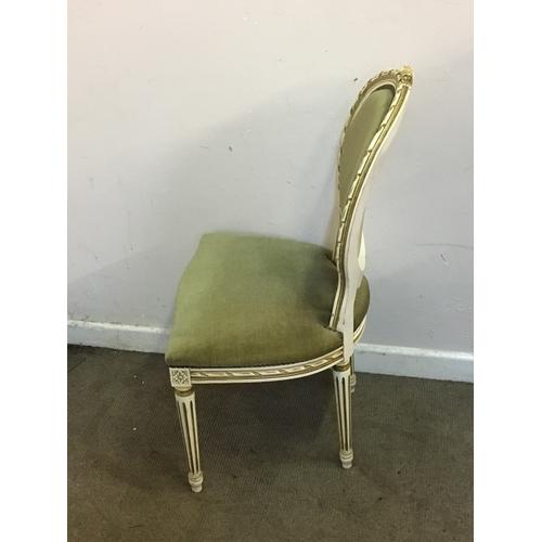 40 - French Hall Chair 52cm x 52cm x 97cm...