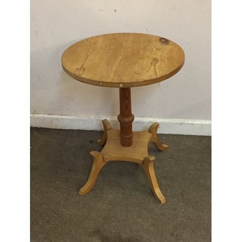 31 - Pine Occasional  table 48cm x 61cm...