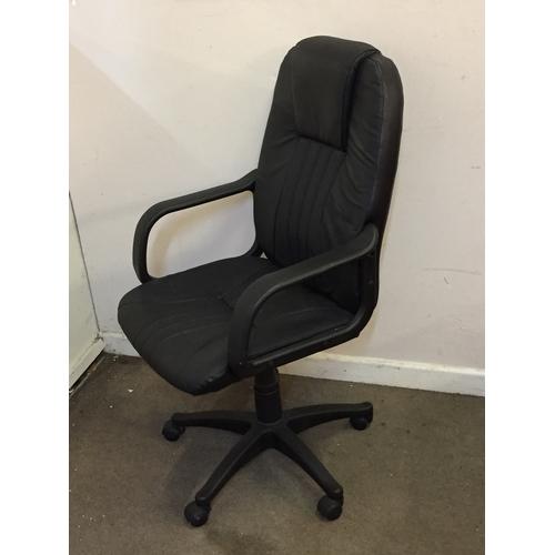 33 - Office chair 53cm x 64cm x 114cm...