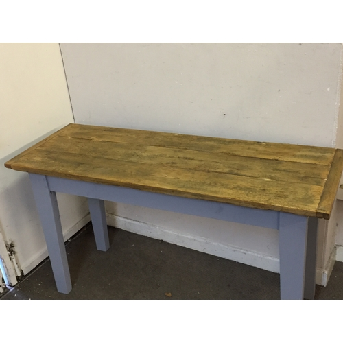 47 - Vintage farmhouse table 143cm x 51cm x 79cm...