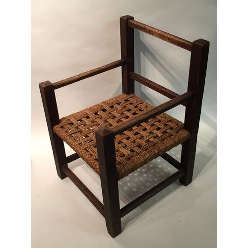48 - Childs chair 33cm x 34cm x 49cm...